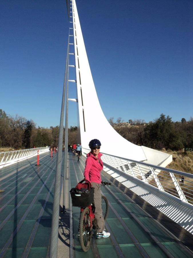 Sun Dial Bridge Redding, Ca.
